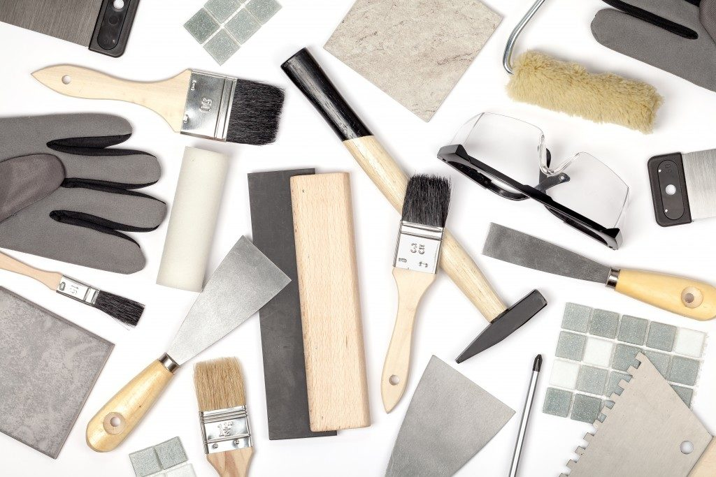 Renovation tools and materials